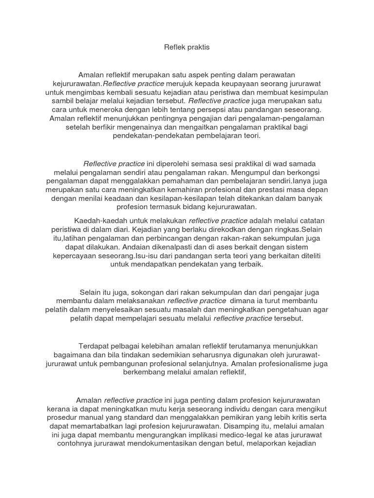 reflek praktis oum rh es scribd com Contoh Teks Prosedur Kompleks Contoh Teks Prosedur Kompleks