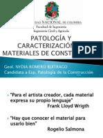 11. Patología y Caracterización de Materiales de Construcción