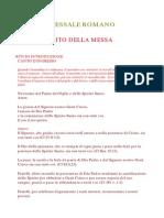 Messale Romano NO