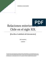 Ensayo Chile 1