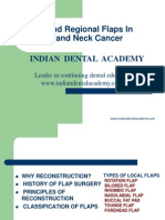 Local and Regional Flaps in Head and Neck Prt 1 (NXPowerLite) / orthodontic courses by Indian dental academy