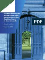 201010 ACI Resultat Enquete Internationale Synthese