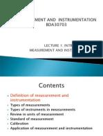 Lecture1 Instrumentation