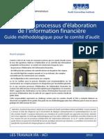Guide Suivi Processus Elaboration Information Financiere IFA