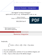 Numerical Integration Pdf