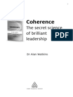 Coherence, The Secret Science of Brilliant Leadership