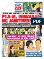 Pinoy Parazzi Vol 7 Issue 61 May 14 - 15, 2014