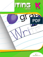 Kindergarten Writing Skills Workbook