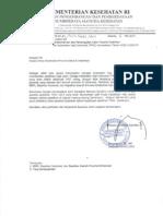 Surat Pemanggilan Pelatihan Kompetensi TKHI 2014