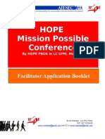 Mission Possible Conference Faci Application