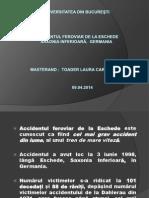 Toader Laura Carmen-Adriana, Accidentul Din Saxonia Inferioara, Germania