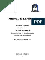3 Remote Sensing