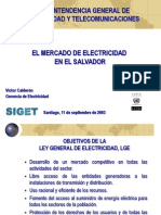 Electricidad El Salvador