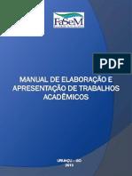 Manual de Apresentação de Trabalhos Acadêmicos FASEM [Texto Completo Com Ficha Catalográfica]V_2