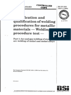 ISO TR Welding - Guidelines for a metallic materials grouping system