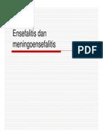 Mk Pen Slide Ensefalitis Dan Meningoensefalitis