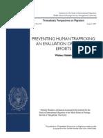 """PREVENTING HUMAN TRAFFICKING"