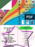 Buku Aturcara Sukan 20121