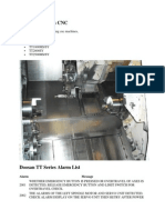 Doosan TT Series CNC