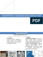 Adsorption Modelling