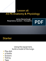 As PE Lesson 26 Resp Syst 2013-14
