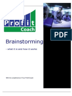 Brainstorming - What It is and How It Works