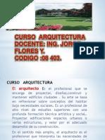 CURSO ARQUITECTURAI-