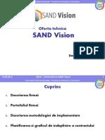 Oferta tehnica Sand VisionFInal