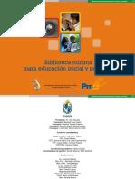 Biblioteca Minima Educacion Inicial Primaria