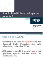 Legalisation of Prostitution