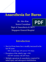 Aneasthesia Burns Course