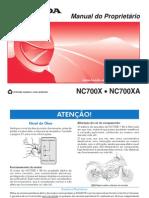 Manual NC 700X 2013