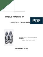 Fuerza Engranajes (Informe)