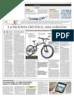 La Bicicldeta Eléctrica Una Solución