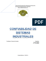 Trabajo Mantenimiento 4 Confiabilidad de Los Sitemas Industriales
