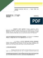 Ação de Danos Morais - Gisselle x Lucio Fernando - Banco Do Brasil