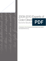 The Insight Center's 2009-10 Experts of Color Directory