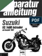 Suzuki VS1400 Reparaturbuch