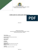 Índice completo da legislação urbanística do Recife