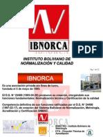 Instituto Boliviano de Normalización y Calidad IBNORCA
