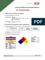 Ar Comprimido - FISPQ