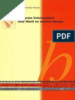 Armillas Jose - Marti en Nuestro - Tiempo Congreso Internacional