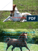 Ponies and Horses During World War II