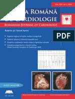 revista cardiologica romaneasca nr. 4 , anul 2010
