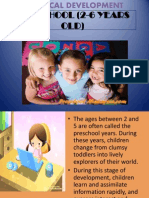 Preschool n Middlehood