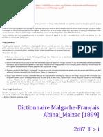 F>i (2di7) Dictionnaire Malgache-Français  Abinal_Malzac [1899]