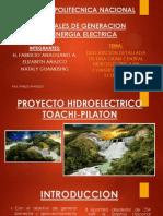 Proyecto Hidroelectrico Toachi Pilaton_grupo 8_anaguano Añazco Guamushig