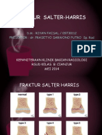 Fraktur Salter-harris