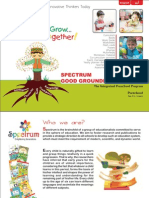 Spectrum Good Grounding Program (A Complete Pre-School Solution)