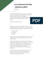 Sistemas Emissores de Nota Fiscal Eletrônica (NFe) _ Blog Da Nota Fiscal Eletrônica (NF-e, NFS-e e CT-e)